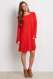 http://www.shoppinkblush.com/p-18758-red-chiffon-bell-sleeve-maternity-dress.aspx?DepartmentID=2