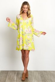 http://www.shoppinkblush.com/p-19049-yellow-floral-printed-v-neck-chiffon-maternity-dress.aspx?DepartmentID=2